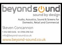 A/V for Business, Audio Systems/TV/Projection for information & entertainment, Commercial CCTV