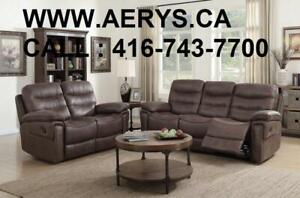 WHOLESALE FURNITURE HUGE SALE! ! CALL 4167437700! WWW.AERYS.CA sectional starts from $298