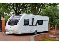 Swift challenger sport 554 2012 4 berth touring caravan