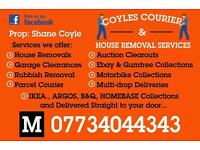 Coyles Courier & House Removal Services ( Man with Van )
