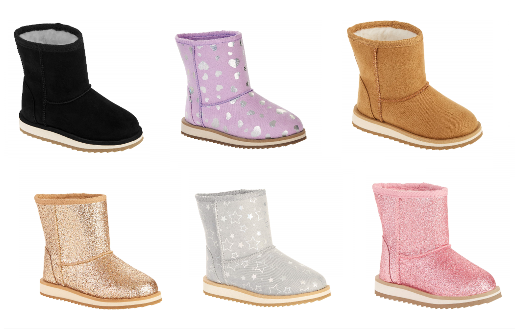 Wonder Nation Faux Shearling Boots