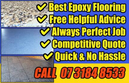 Get Perfect Epoxy Flooring Done - Residential & Commercial