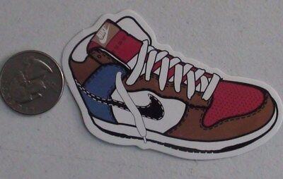 7912513d47d New Nike Jordan 11 USA Shoes Sticker Unique Air Jumpman America Flag Moon  Outdoor Sports