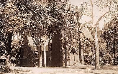 Simsbury  Ct   Methodist Church  Real Photo Pc   C  1910 1920S