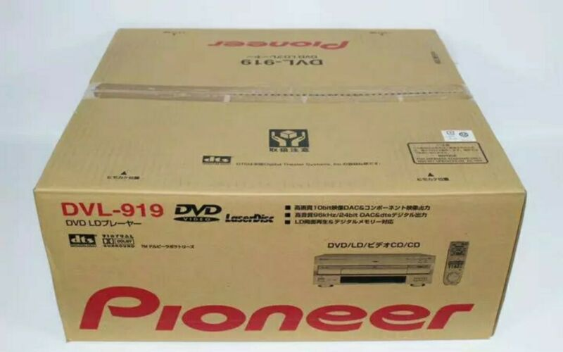 Final Lot Made In 2009 Pioneer Laserdisc Player Dvl-919  Brand New!!!!!!