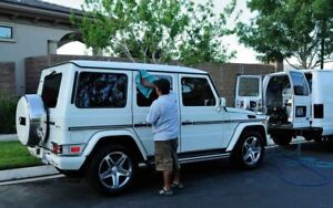 Mobile auto detailing cars