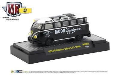 M2 Volkswagen Microbus Deluxe 1959 Mooneyes Moon02 1/64