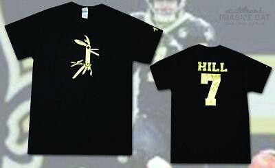 TAYSOM HILL 'Swiss Army Knife' (Saints) Black Unisex T-Shirt ()
