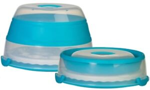 """New! Unopened! Prepworks Progressive Collapsible 24 Cupcake and 10"""" Cake Carrier"""