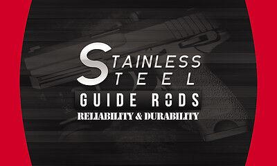 Glock 17,17l,22,24,31,34,35,37 Gen 4 Conversion Kit Stainless Steel Guide Rod