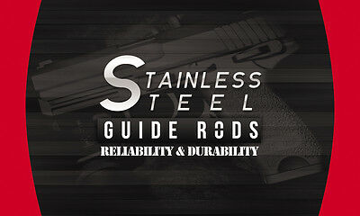 Glock 19,23,32,38 Gen 4 Conversion Kit Stainless Steel Guide Rod