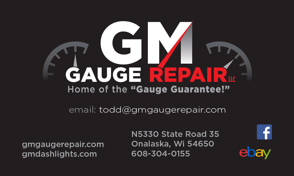 GM Gauge Repair Onalaska Wisconsin