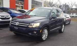 2014 Volkswagen Tiguan Highline AWD, Leather Interior