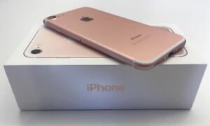 Iphone 7 32gb ( Rose Gold ) ( Rogers/Chat-r/Mobilcity)