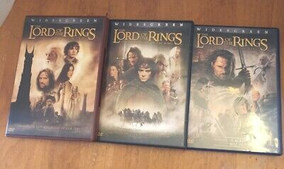 The Lord of the Rings: The Two Towers (DVD, Lot of three Bonus Free Shipping