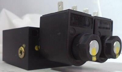 Comitrol 12vdc 20w Hydraulic Solenoid Manifold Block Assy Pn M13-12d-20w-sp