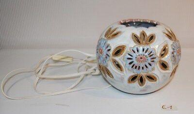 E1 Lampe de chevet style marocain en céramique