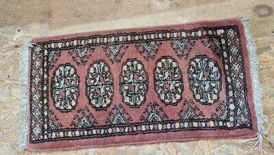 small antique prayer rug