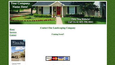 Landscape Company WEBSITE: Show Services, Supplies & Equipment Web Site