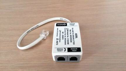 ADSL In-Line Fiter/Splitter Telstra