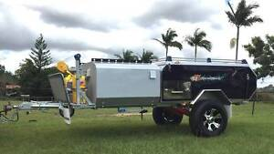 REAR HARD FLOOR CAMPER TRAILER RAZORBACK SERIES 3 Brendale Pine Rivers Area Preview