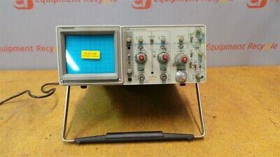 Tektronix 2215 60mhz Oscilloscope 2 Channel Analog Portable