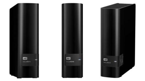 WD easystore 8TB External USB 3.0 Hard Drive Black WDBCKA0080HBK-NESN