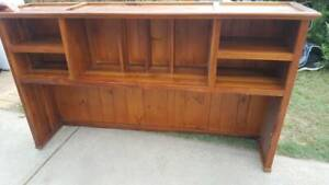 Solid Timber Hutch