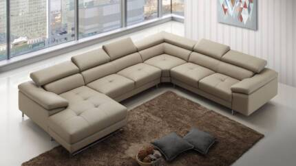 CLEARANCE - BOSTON EXPRESS LEATHER LOUNGE
