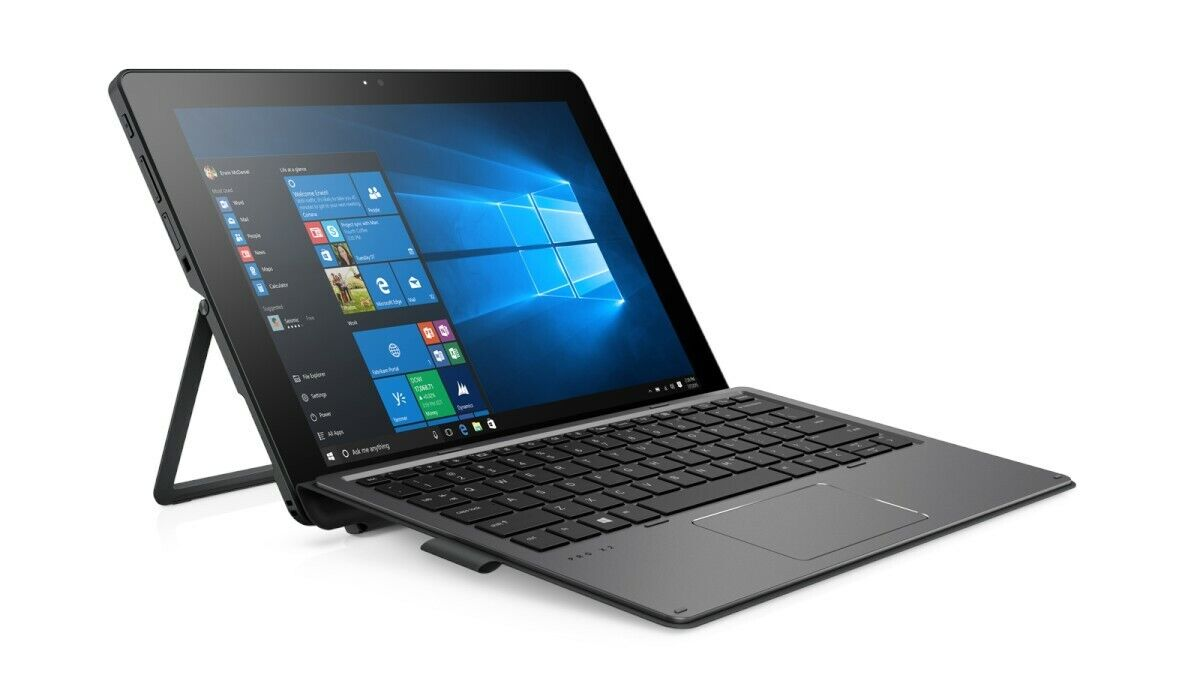 """New Sealed 12"""" HP Pro x2 612 G2 2-in-1 Touch Pentium 4410Y 128GB SSD 4GB RAM W10"""