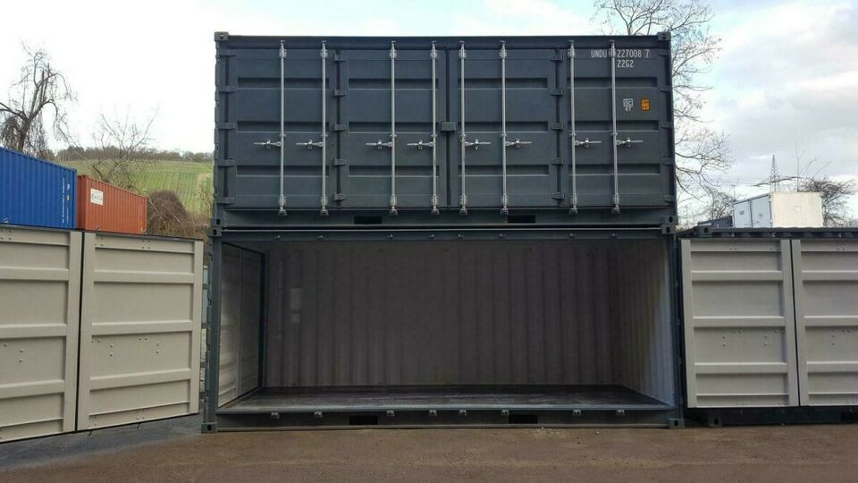!!! NEU !!! 20 Fuß Open Side Container, Side Door Seecontainer in Würzburg