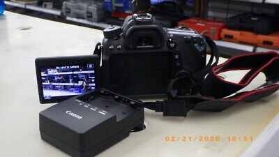 CANON DIGITAL CAMERA EOS 70D W/CHARGER (TDY006788)