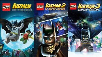 Lego Batman Trilogy | Steam Key | Digital | PC | Worldwide