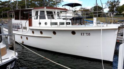 Percy Coverdale 50ft Twin Motor Cruiser