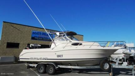 CruiseCraft Outsider 685 AWESOME OFFSHORE FISHING DIVING RIG