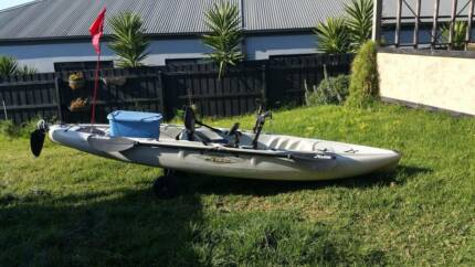 Hobie Outback 2012 Fishing Kayak Waurn Ponds Geelong City Preview