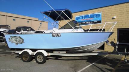 TRAILCRAFT 600 RUNABOUT PLATE ALLOY FISHING BOAT