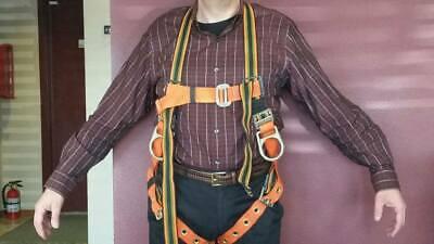Miller Body Harness Belt Size U Capacity 310 Pounds Model E650-58