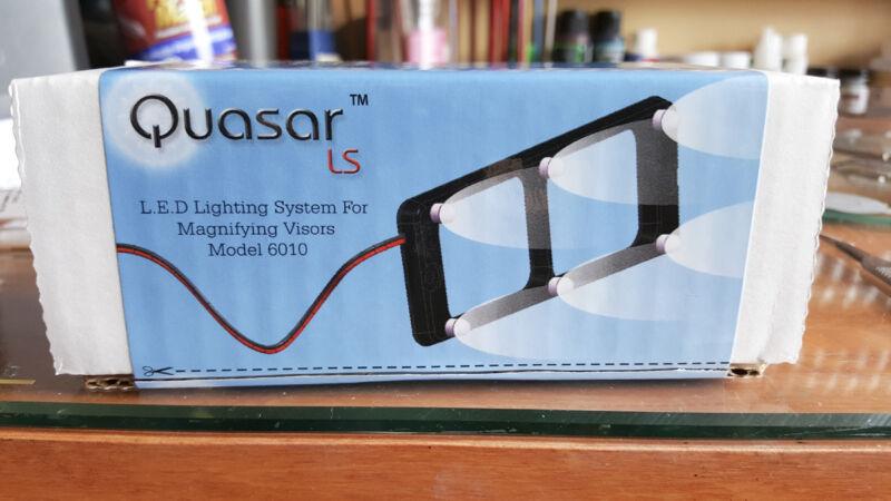 QUASAR LED LIGHTING SYSTEM for DONEGAN OPTIVISOR VISOR 6 LED LIGHTS