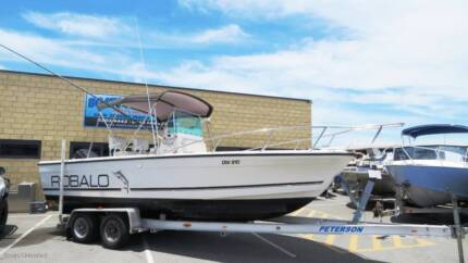 ROBALO 2120 DC CENTRE CONSOLE GREAT FISHING, DIVING, CRUISING, AL