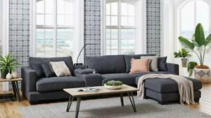 Harvey Norman Fabric Lounge Bedford Park Mitcham Area Preview
