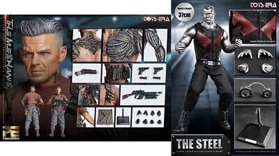 Toys Era The Mechanical (CABLE) Deluxe AND The Steel 1.0 (COLOSSUS) COMBO SET