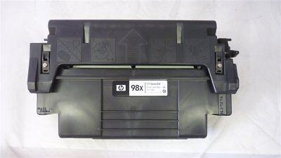 4 X Neue Toner (Original HP Toner 92298X 98X black für HP LaserJet 4 5 Series Neu [90-15-21])