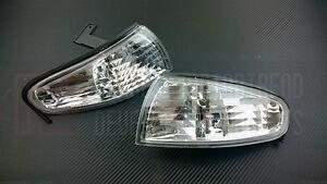 P2M Phase 2 Front Headlight Corner Lamps Lights Set S14 240SX Silvia Zenki New