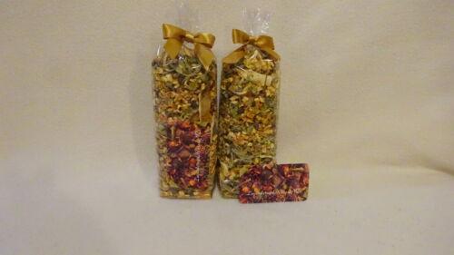 2pk Potpourri Orange Peel-Guatemala Sunflower-Verbena-Yield 48ozs NO FILLER-Rare