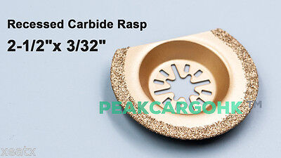 3pk 2-12 Segmented Recessed Grout Carbide Rasp Fein Rockwell Oscillating