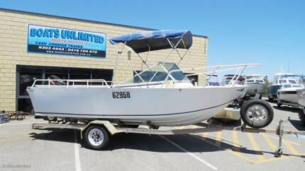 TRAILCRAFT 580 RUNABOUT PLATE ALLOY GREAT FISHING