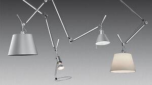 artemide lampadario sospensione : Dettagli su ARTEMIDE LAMPADA SOFFITTO TOLOMEO SOSPENSIONE DECENTRATA ...