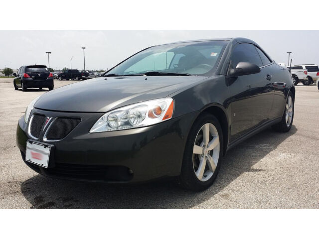 PONTIAC G6 GT V6 POWER CONVERTIBLE,CLEAN TX TITLE,RUST FREE, 1 OWNER