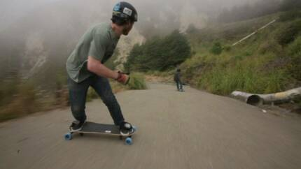 Learn to Snowboard on the road (Freebord Lessons)